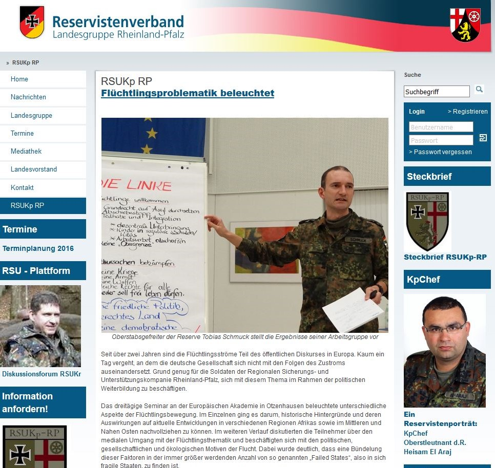 Reservistenverband 1 x
