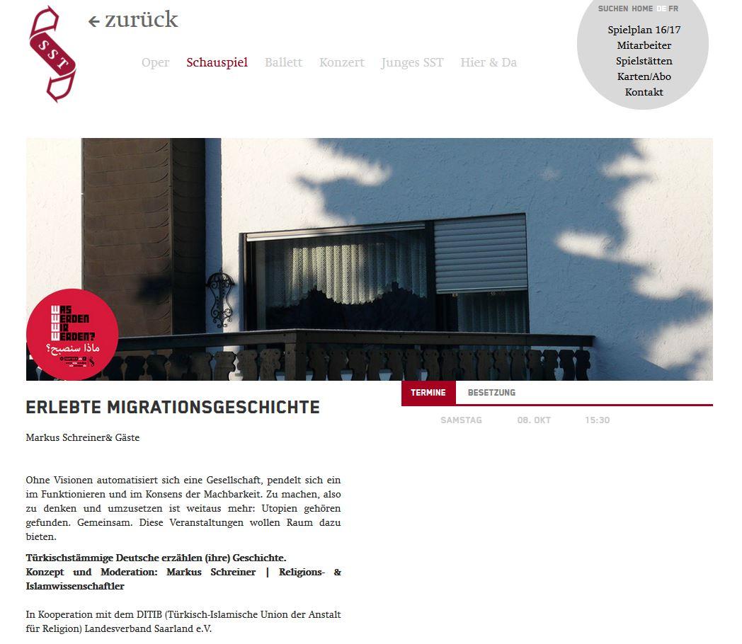 Sparte 4 Migrationsgeschichte Webseite